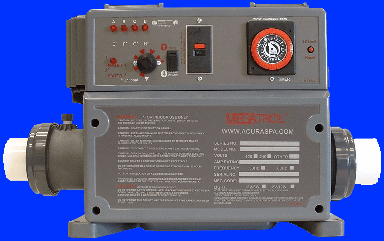 Replacement Spa Guts Control For 29995 Free Freight Mfg Direct Why Spaguts To 220v Wiring Diagrams Pay Retail Advice How Replace Your Existing And Heater